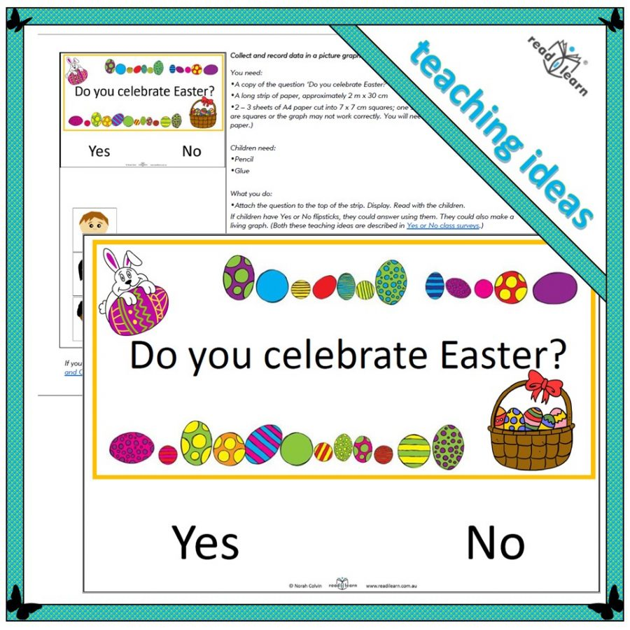 class survey of Easter celebrations