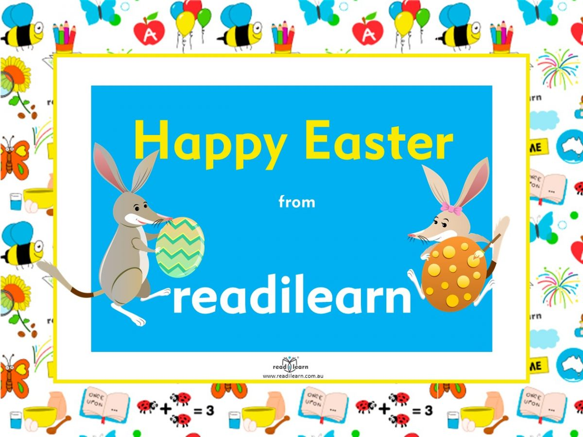 Happy Easter from readilearn