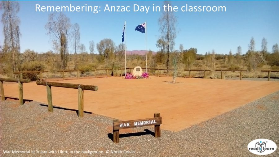 Remembering Anzac Day in the classroom