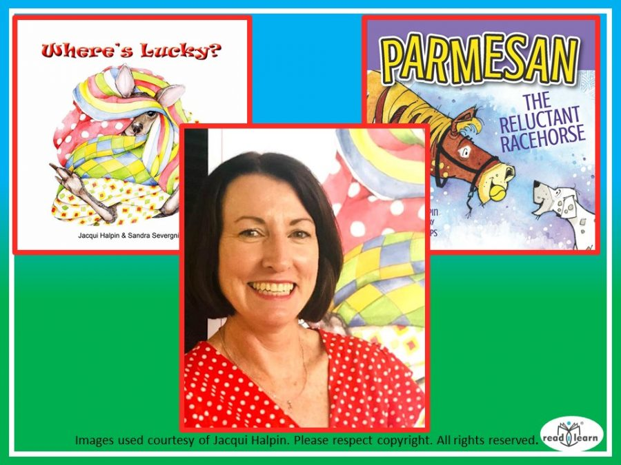Jacqui Halpin and her picture books