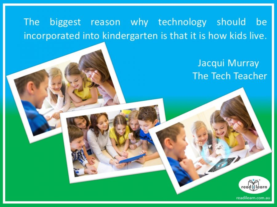 Jacqui Murray - thereasons for using technology in kindergarten