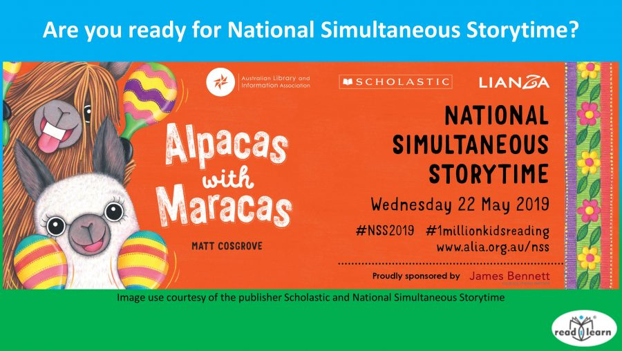 about National Simultaneous Storytime 2019