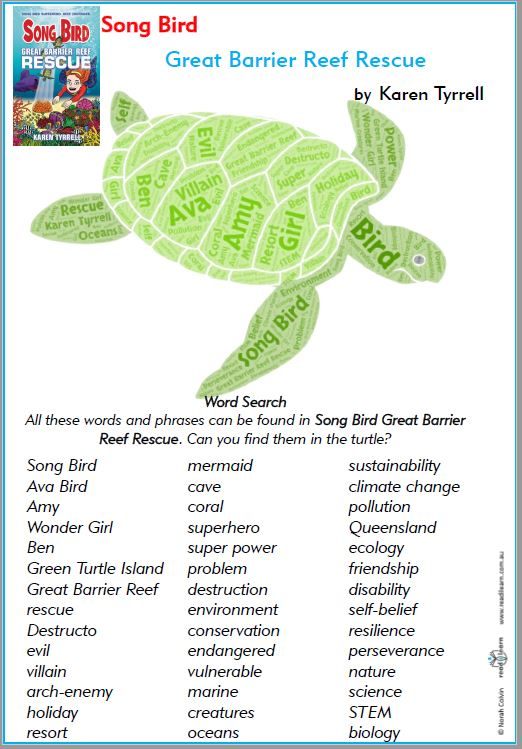 Great Barrier Reef Word Search