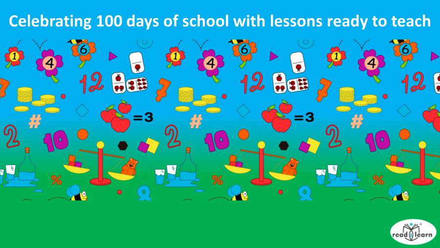 Celebrating 100 days of school with lessons ready to teach